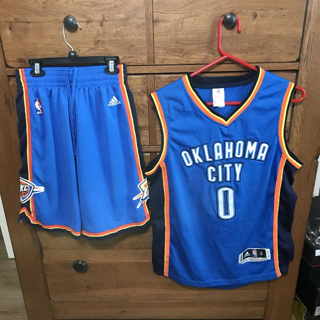 new products 97530 7edc7 Russell Westbrook Jersey and matching Shorts
