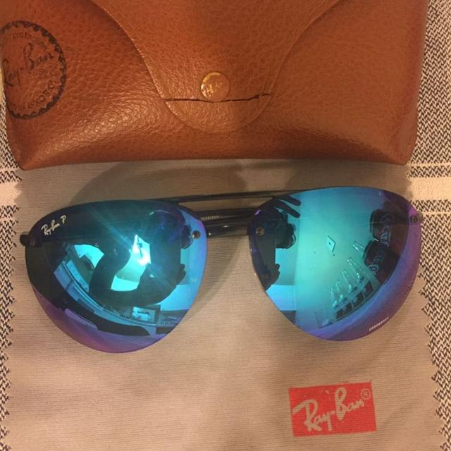 71cf5b0afd4 Find more Original Ray Ban Polarized Rb4293 Chromance for sale at up ...