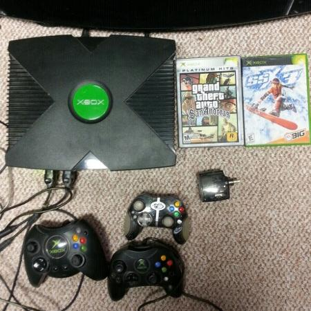 Modded XBOX with hundreds of games for sale  Canada