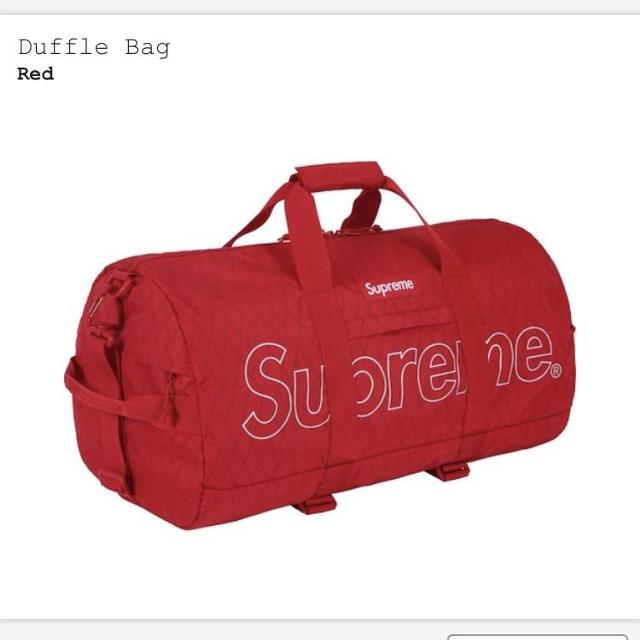 e1061f19744343 Best Brand New W Tags - Supreme Duffle Bag (100% Authentic) for sale in  Markham, Ontario for 2019