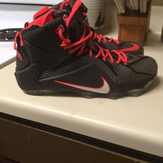 official photos 8bbf1 da02f LeBron 12 Court Vision Shoes