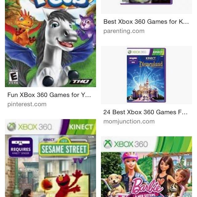 Looking For: Looking for Xbox 360 games for little kids in