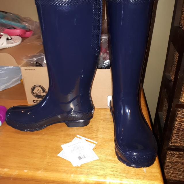a47243852844 Best Rubber Boots Bn Navy Size 7 for sale in Clarington