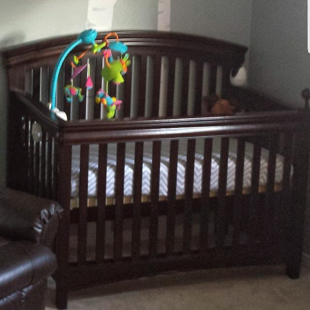 Find More Shermag Wood Convertible Crib For Sale At Up To 90 Off