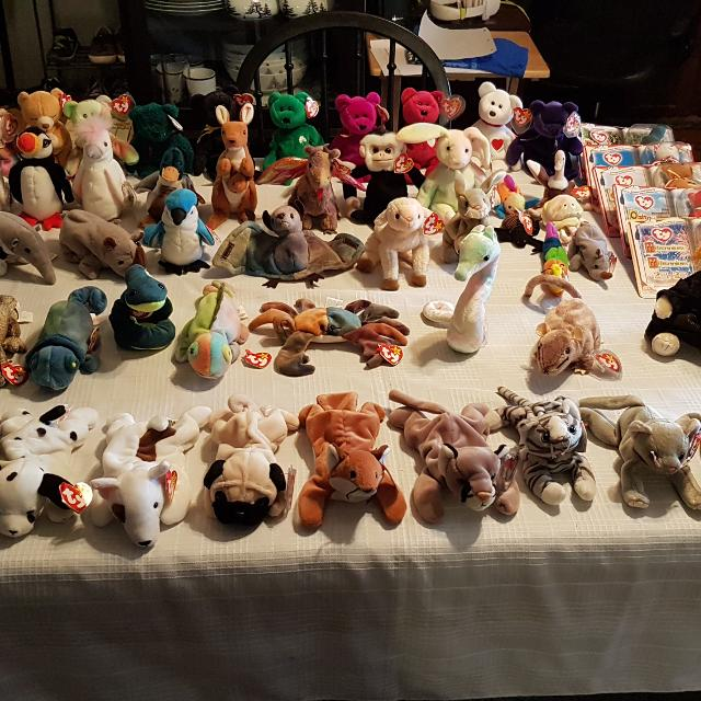 Find more Ty Beanie Babies Lot for sale at up to 90% off 922b1d661d8e