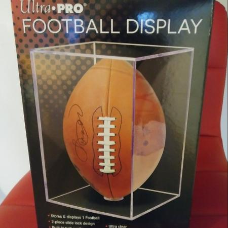 Ultra Pro Football Display Case for sale  Canada