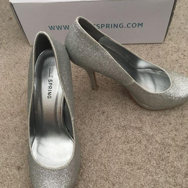 e08121019071 Best Sparkly Silver Heels From Call It Spring for sale in Victoria ...