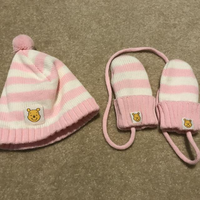 Best Eeuc Winnie The Pooh Baby Winter Hat And Mittens for sale in  Clarington 6e444592ef6