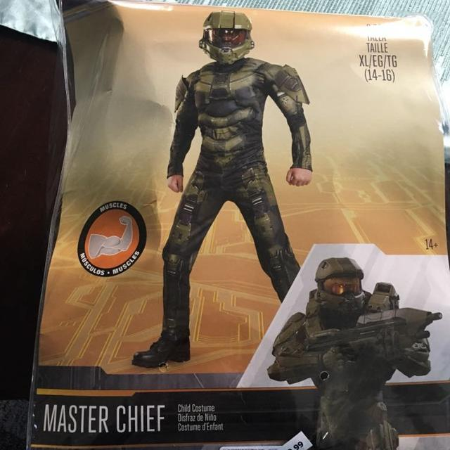 Boys XL Master Chief Costume