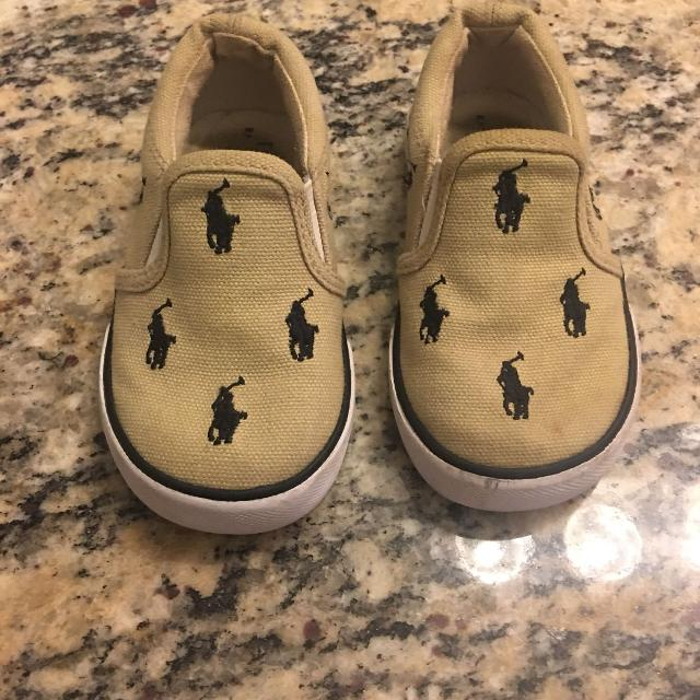1328ff88c Find more Adorable Toddler Ralph Lauren Polo Slip Ons Size 6 Shoes ...