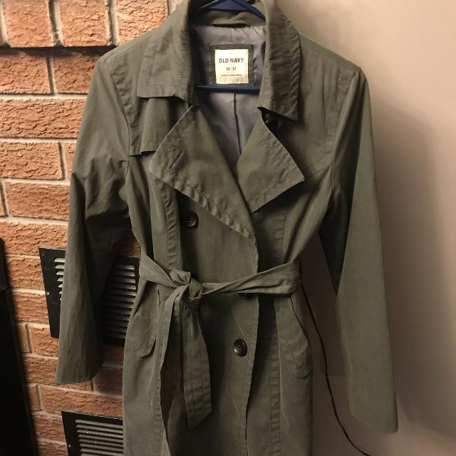 edb4f0b236f Find more Old Navy Trench Coat - Size M for sale at up to 90% off ...
