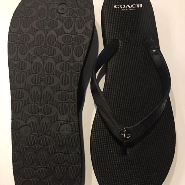 d0670e87a2861 Find more Coach Flip Flops Never Worn Size 9 10 for sale at up to 90 ...