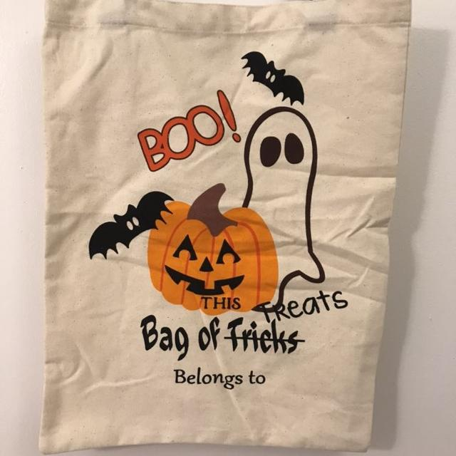 Halloween Trick Or Treat Bags Personalized.Personalized Halloween Trick Or Treat Bags