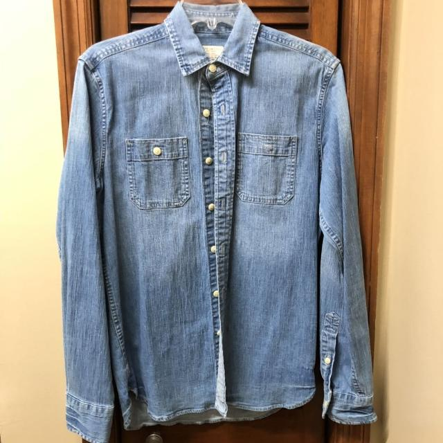 63eb4eac81 Best Euc American Eagle Denim Shirt-size Xs for sale in ...