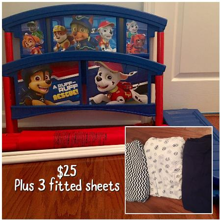 Paw Patrol Toddler Bed 3 Ed Sheets