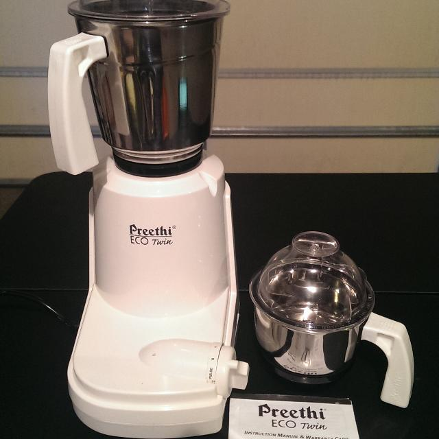 d7ac3aeac5d Best Preethi Eco Twin Mixer Grinder for sale in Champaign