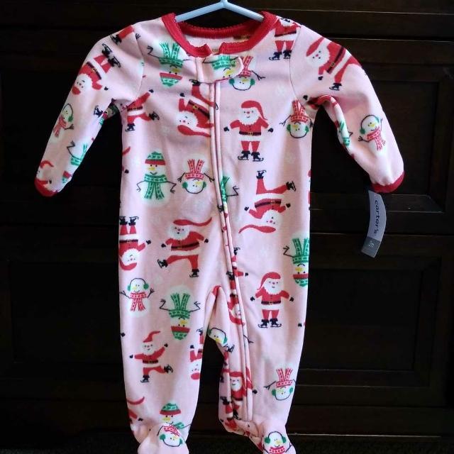 4c5ec6bad Best Bnwt Carter s Christmas Fleece Sleeper for sale in Oshawa ...