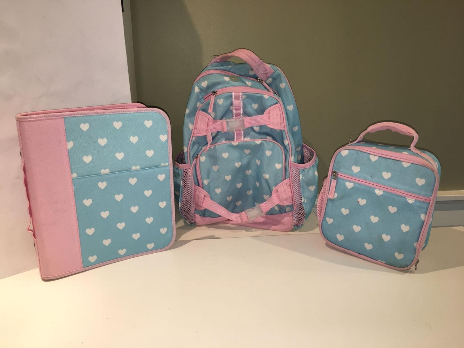 Find More Pottery Barn Kids Large Mackenzie Backpack Lunch