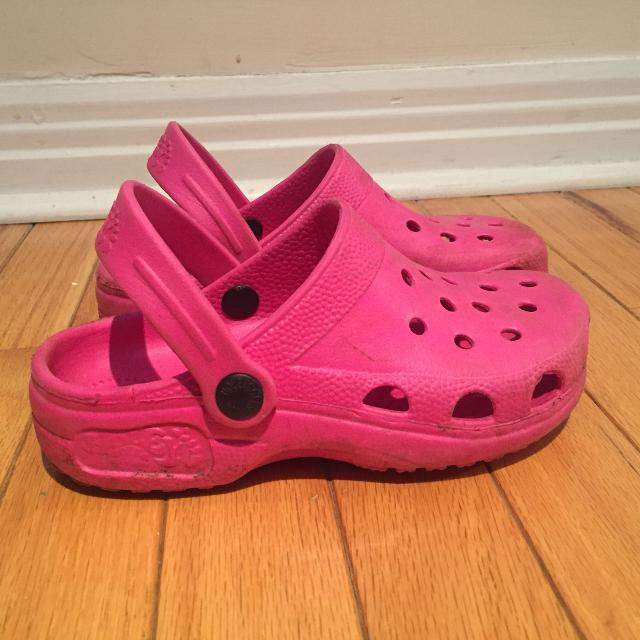 abebce145633 Best Holey Soles Canada (crocs) Size 1 for sale in Dollard-Des Ormeaux