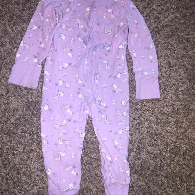 171703981 Find more Baby Girl Footed Sleeper Onesie 18 Month for sale at up to ...