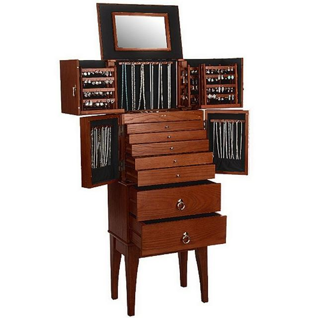 Best Jewelry Armoire By Lori Greiner Gold Silver Safekeeper For