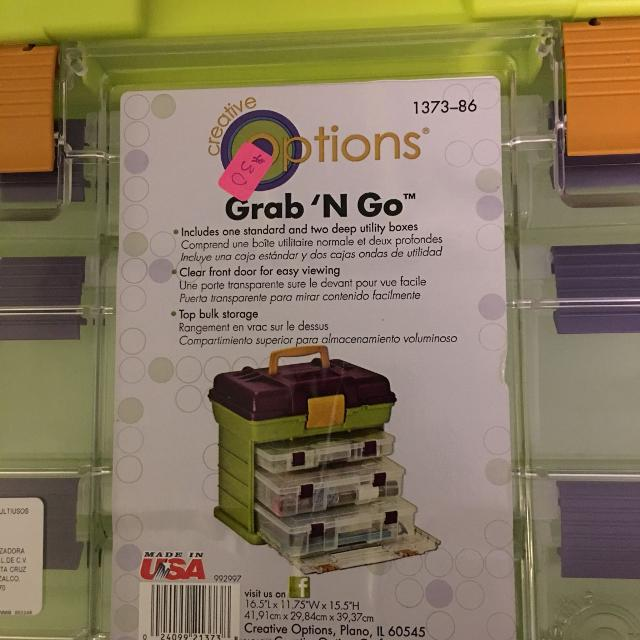 a9477aee Find more New Grab 'n Go 3 Drawers, W/top Area For Larger Items ...