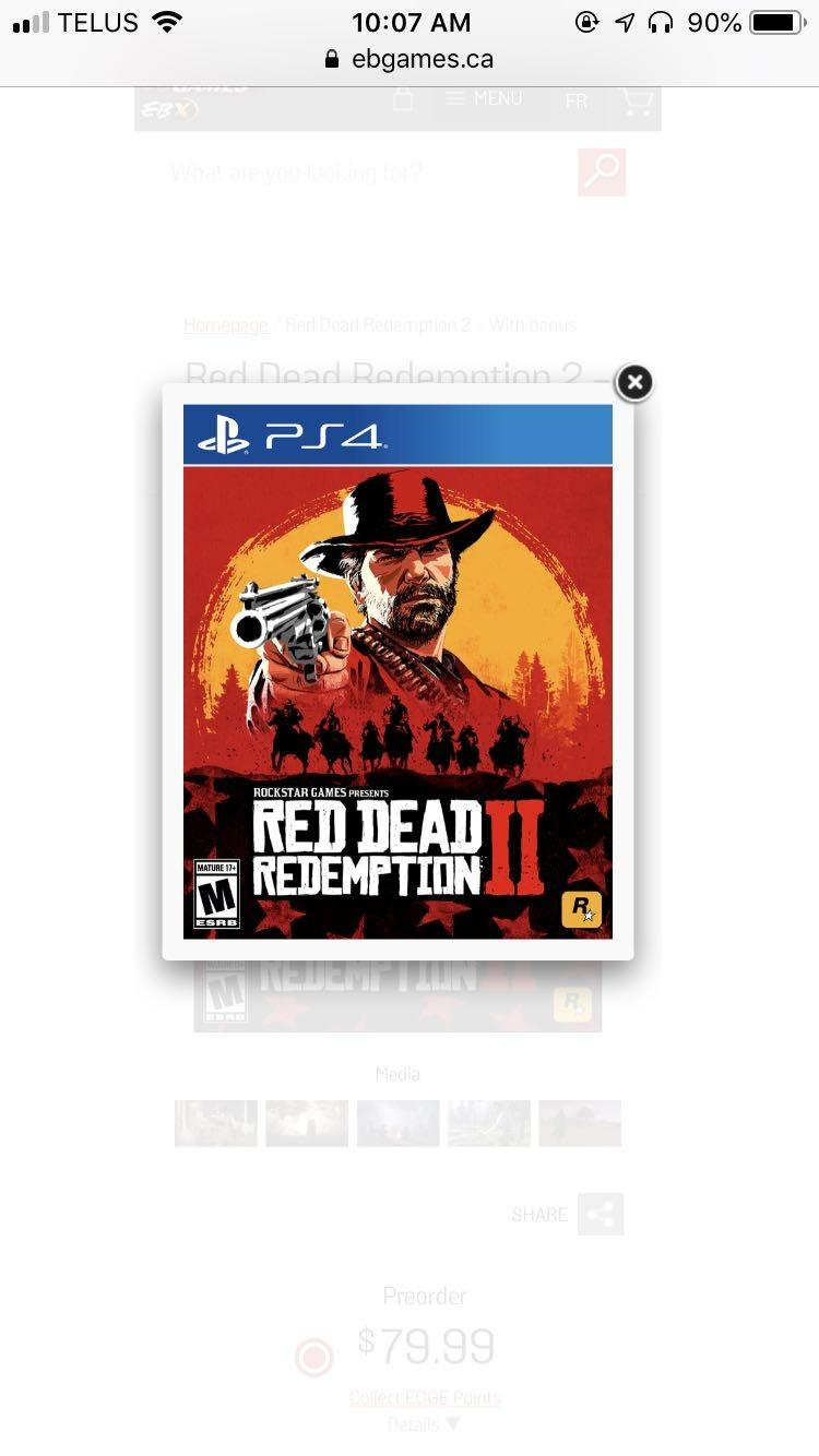 eb games red dead redemption