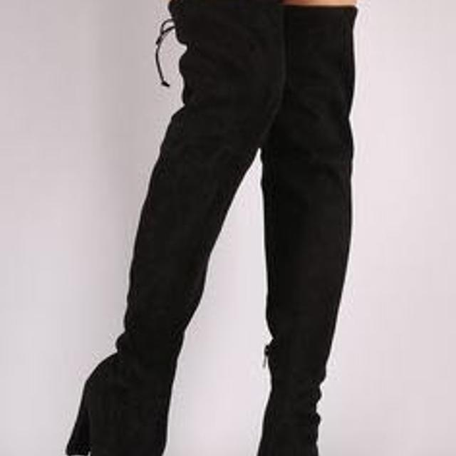 082cb1cf15c Find more Christian Siriano Ziya Over-the-knee Boot Black for sale ...