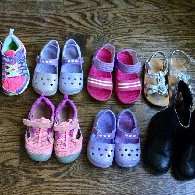 befd1ffff08f00 Best Lot Of Girls Shoes Size 8-9-$15 For All for sale in Etobicoke, Ontario  for 2019