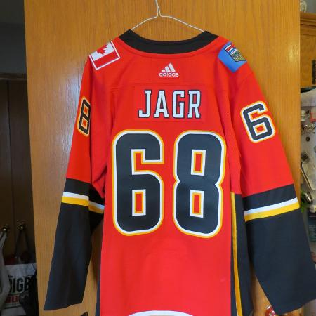 JAGR Flames Hockey Jersey, used for sale  Canada