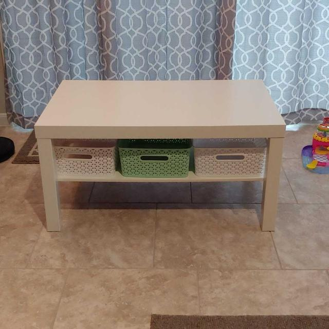 Find More Ikea Lack Coffee Table With Storage Baskets For