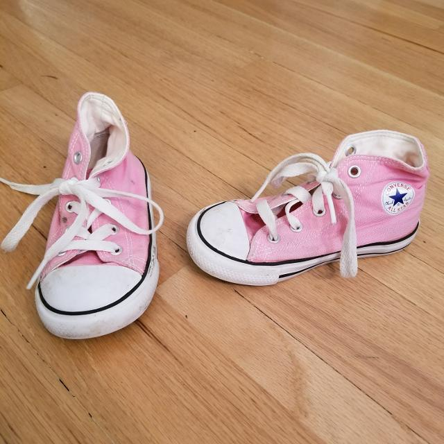 3daf79f349db Find more Pink Converse All Stars for sale at up to 90% off