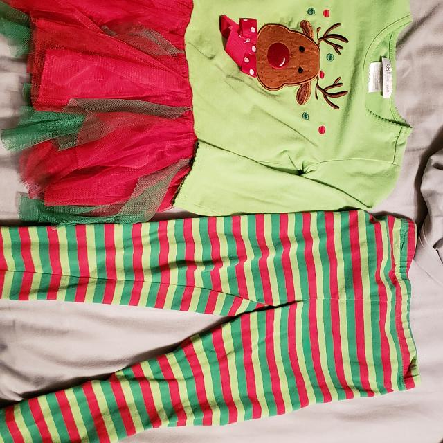 Bonnie Jean Christmas Outfits.3t Girls Bonnie Jean Rudolph Christmas Outfit