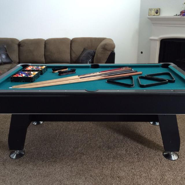 Best Tournament Choice Pool Table For Sale Years Old Kept Inside - Inside a pool table