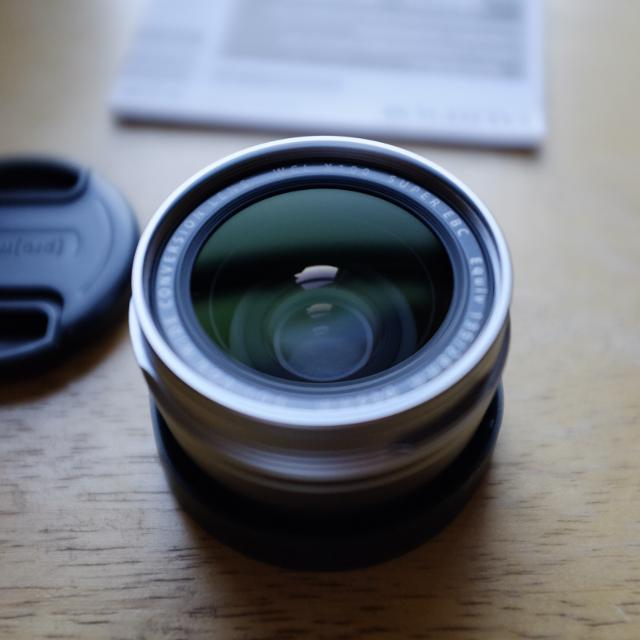 Fuji WCL-X100 (WIDE ANGLE CONVERSION LENS) SILVER