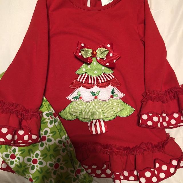 Rare Editions Christmas Toddler.Rare Editions Christmas Outfit 4t