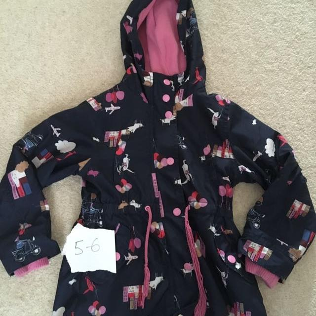 e314b686c85a Find more Next Girls Coat Age 5-6 for sale at up to 90% off