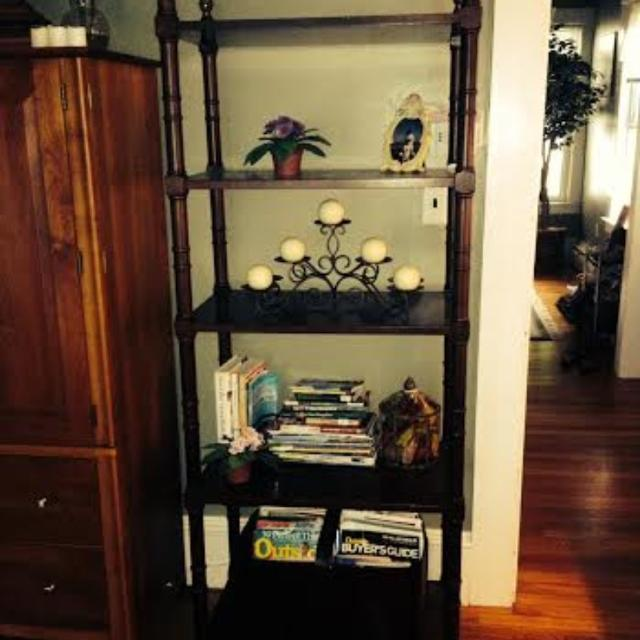 Best Bombay Company 5 Shelf Etagere For Sale In Portsmouth New