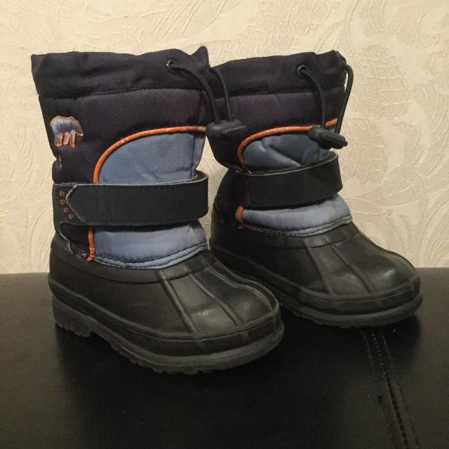 footwear huge discount really comfortable Joe Fresh winter boots - toddler boys size 6