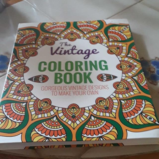 Best Vintage Coloring Book for sale in Port Huron, Michigan for 2019