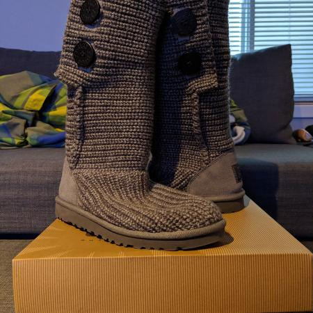 EEUC Ugg Gray K Classic Cardy Boots for sale  Canada