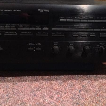 Yamaha stereo receiver Rx-V870 for sale  Canada
