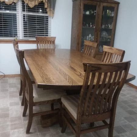 Used, Brand New oak table & chairs for sale  Canada