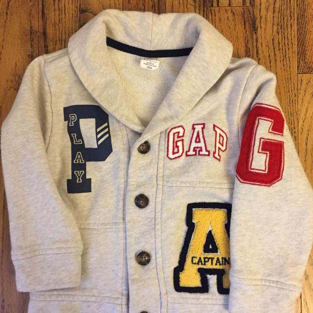 dd024b675 Find more Gap Varsity Sweater. 3t for sale at up to 90% off