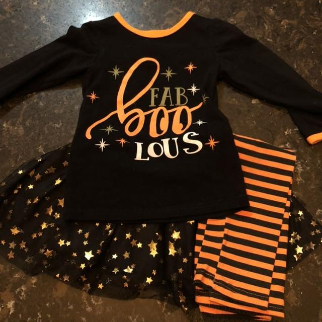 819e33cb9 Find more Sparkle In Pink Halloween / Fall Set Size 3t for sale at ...