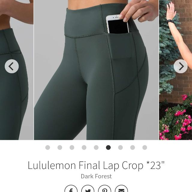 3c3754e2e2f762 Find more Lululemon Final Lap Pants for sale at up to 90% off