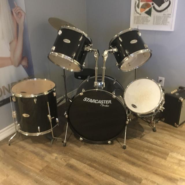 Find More Starcaster By Fender Drum Set For Sale At Up To 90 Off