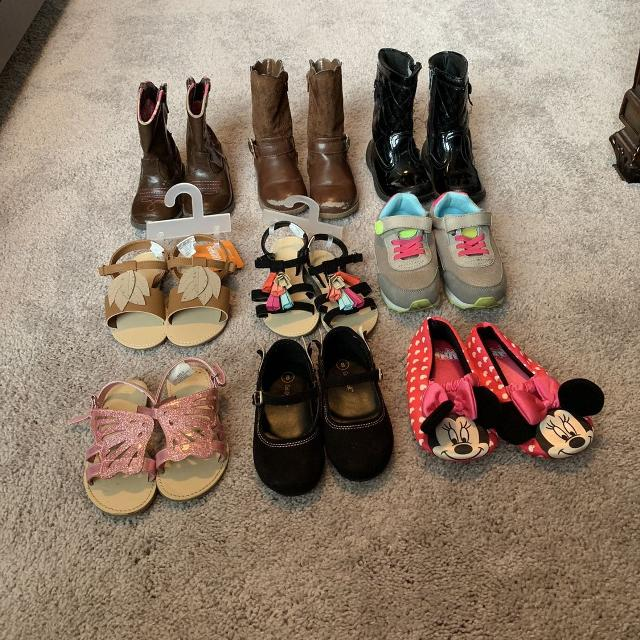 939a2ef0cd62 Find more Size 8 Toddler Girl Shoe Lot for sale at up to 90% off