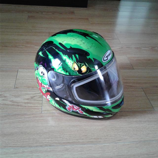 GMAX Monster Snowmobile Helmet - Youth Small