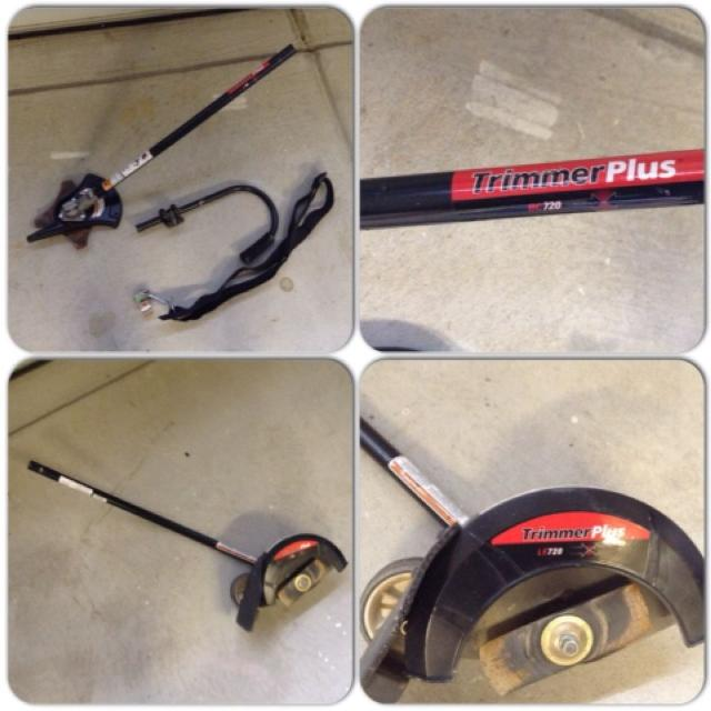 Like New Troy Bilt Brush Cutter Attachment Lowes Item 63927 And Trimmer